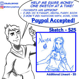 Sketch Comms Special Offer [OPEN]