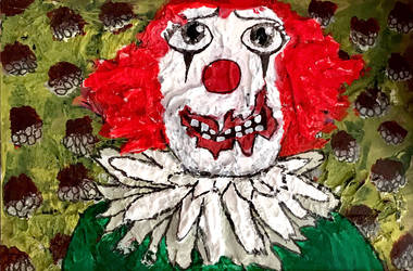 Clown portrait 2 by missmagicgirl