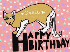 Happy Birthday Obelis!