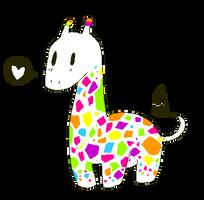 rainbows 'n giraffes by hyrikuot
