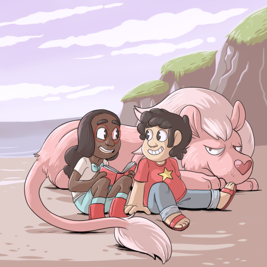Connie and Steven by pkstarst0rm