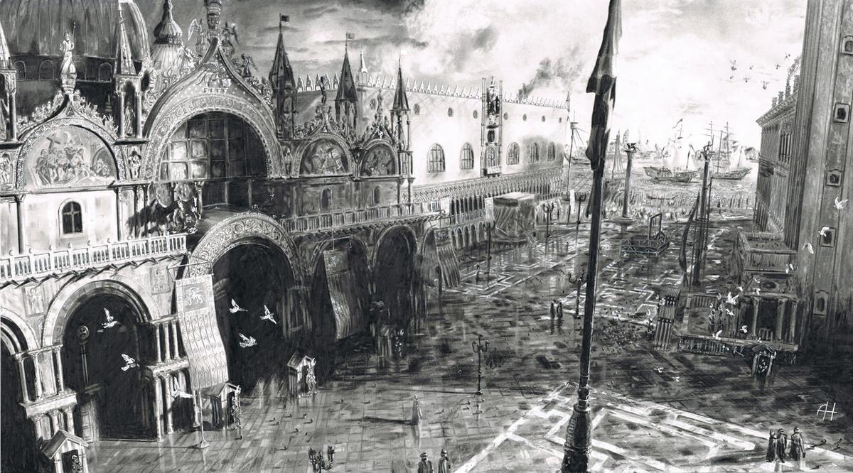 Basilica San Marco Venice by AH86
