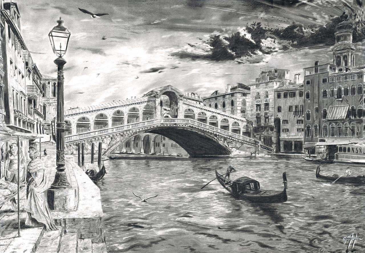 Ponte di Rialto (1592) by AH86