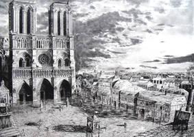 Notre-Dame de Paris 1796 by AH86