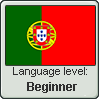 Portuguese language level BEGINNER by TheFlagandAnthemGuy
