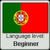 Portuguese language level BEGINNER