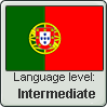 Portuguese language level INTERMEDIATE by TheFlagandAnthemGuy