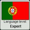 Portuguese language level EXPERT by TheFlagandAnthemGuy