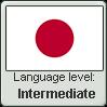Japanese language level INTERMEDIATE by LarrySFX