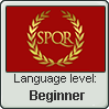 Latin language level BEGINNER by TheFlagandAnthemGuy