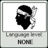 Corsican language level NONE by TRUSTNOIDIOT