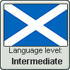 Scots language level INTERMEDIATE by TheFlagandAnthemGuy