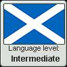 Scots language level INTERMEDIATE by TheFlagandAnthemGuy