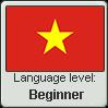 Vietnamese language level BEGINNER by TheFlagandAnthemGuy