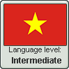 Vietnamese language level INTERMEDIATE by LarrySFX