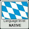 Bavarian language level NATIVE by TheFlagandAnthemGuy