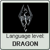 Dovahzul language level DRAGON by TheFlagandAnthemGuy