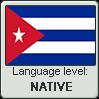 Cuban Spanish language level NATIVE by LarrySFX