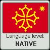 Occitan language level NATIVE by animeXcaso
