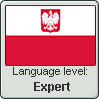 Polish language level EXPERT by TheFlagandAnthemGuy