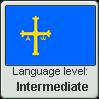 Asturian language level INTERMEDIATE by TheFlagandAnthemGuy