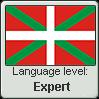 Basque language level EXPERT by TheFlagandAnthemGuy