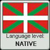 Basque language level NATIVE by TheFlagandAnthemGuy