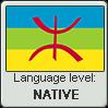 Tamazight language level NATIVE by TheFlagandAnthemGuy