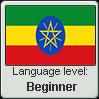 Amharic language level BEGINNER by TheFlagandAnthemGuy