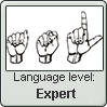 American Sign Language level EXPERT by TheFlagandAnthemGuy