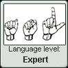 American Sign Language level EXPERT by TheFlagandAnthemGuy