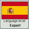 Spanish language level EXPERT by TheFlagandAnthemGuy