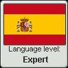 Spanish language level EXPERT