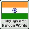 Hindi language level RANDOM WORDS by TheFlagandAnthemGuy