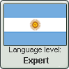 Argentinian Spanish language level EXPERT by TheFlagandAnthemGuy