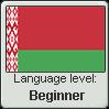 Belarusian language level BEGINNER by animeXcaso