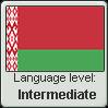 Belarusian language level INTERMEDIATE by animeXcaso