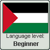 Palestinian Arabic language level BEGINNER by TheFlagandAnthemGuy