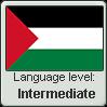 Palestinian Arabic language level INTERMEDIATE by TheFlagandAnthemGuy