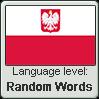 Polish language level RANDOM WORDS by animeXcaso