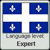 Quebec French language level EXPERT by TheFlagandAnthemGuy