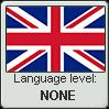 British English language level NONE