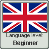 British English language level BEGINNER by TheFlagandAnthemGuy