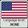 American English language level NONE by TheFlagandAnthemGuy