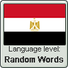 Egyptian Arabic language level RANDOM WORDS by TheFlagandAnthemGuy
