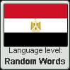 Egyptian Arabic language level RANDOM WORDS by TheFlagandAnthemGuy