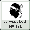 Corsican language level NATIVE by TheFlagandAnthemGuy