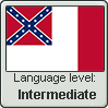 Confederate English language level INTERMEDIATE by TheFlagandAnthemGuy