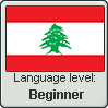 Lebanese Arabic language level BEGINNER by TheFlagandAnthemGuy