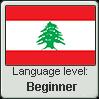 Lebanese Arabic language level BEGINNER by TheFlagandAnthemGuy